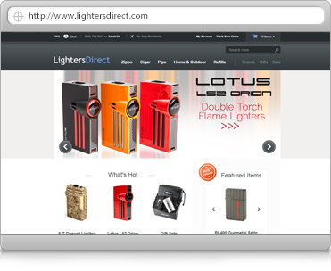 lighters-ecommerce-design