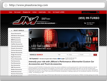 Auto Racing Employment on Jm Auto Racing   Atwoodz Technology Solutions  Ecommerce  Php  It  And